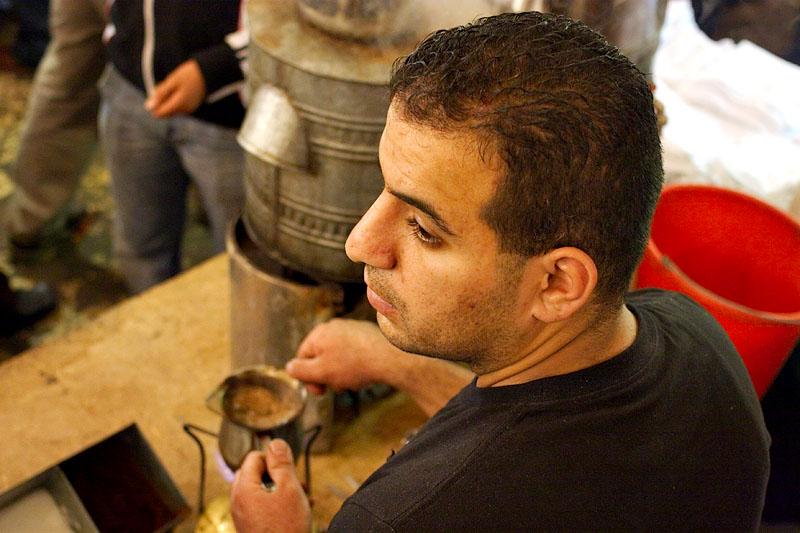 Coffee vendor - Jerusalem