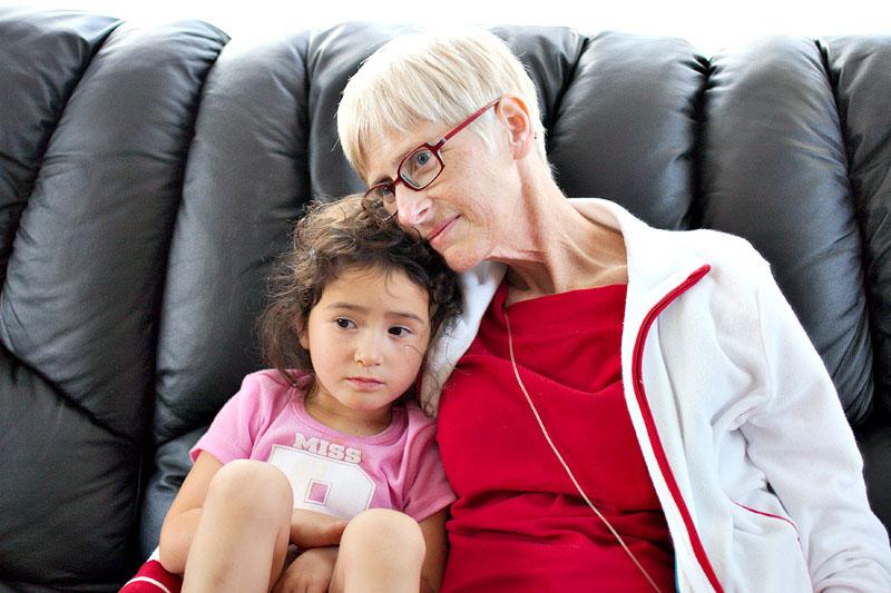 Ashely and Mum