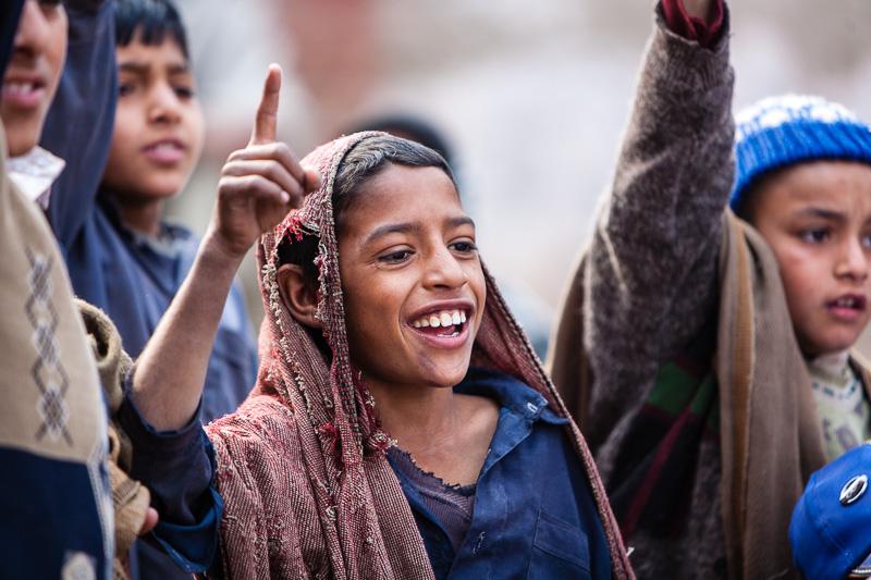 School boys - Peshawar