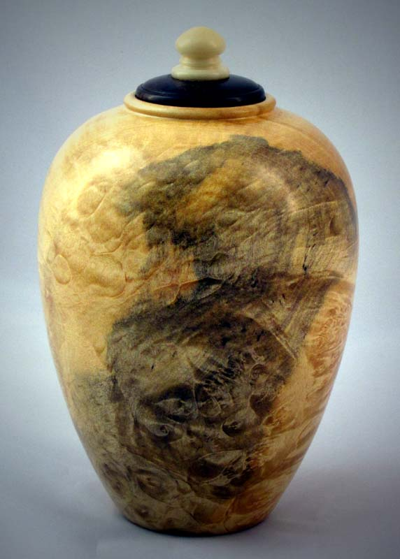 Lidded Holow Form #3    SOLD