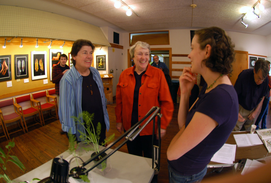 Opening Day: Linda Teaching