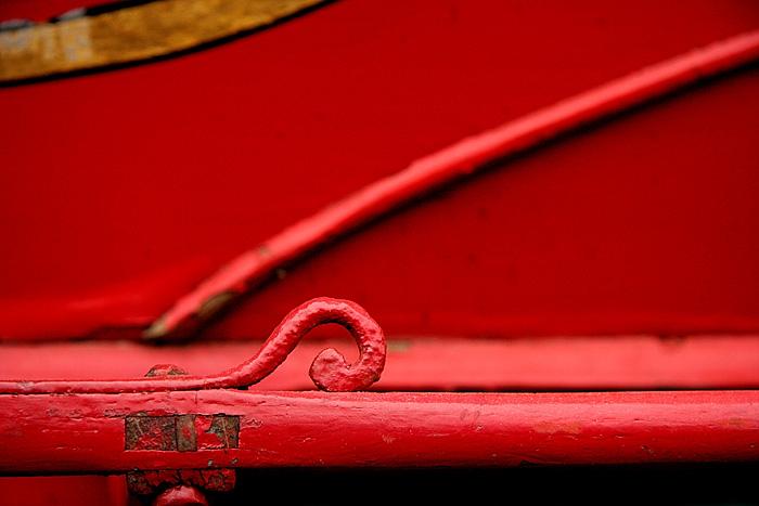 Red Sleigh Detail *