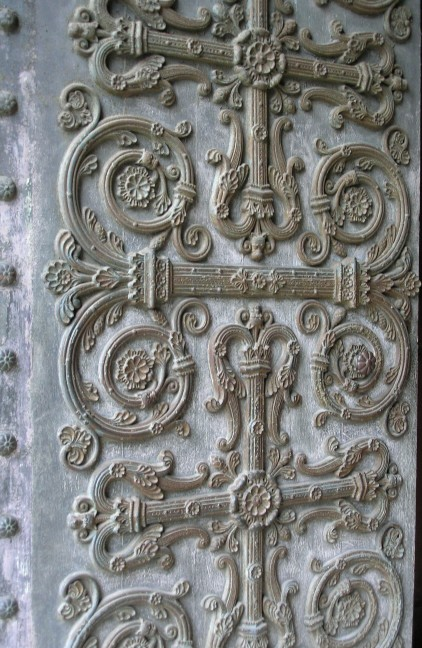 St-Denis - door detail