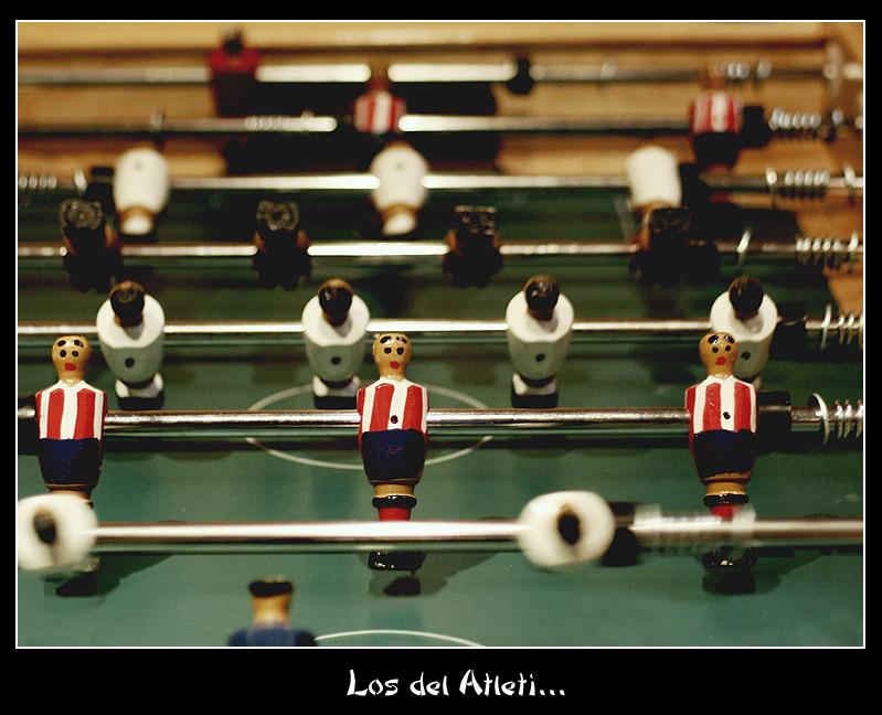 Los del Atleti...