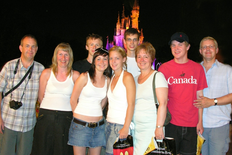 9th August 2006 - team Disney :)