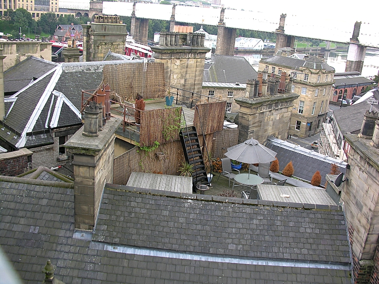 Newcastle rooftops