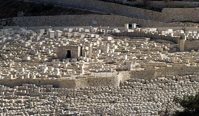 mt olives tomb stones.JPG