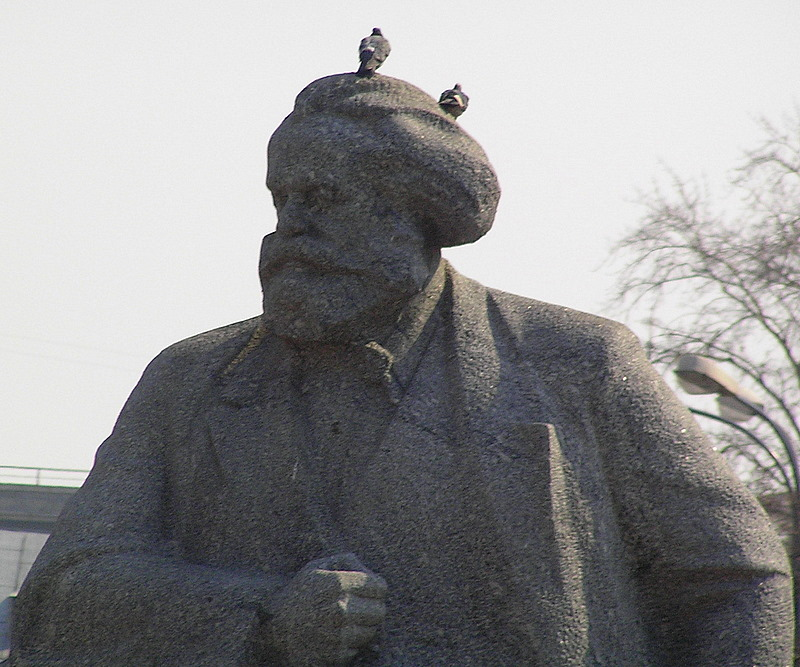 Statue Marx moscow.JPG