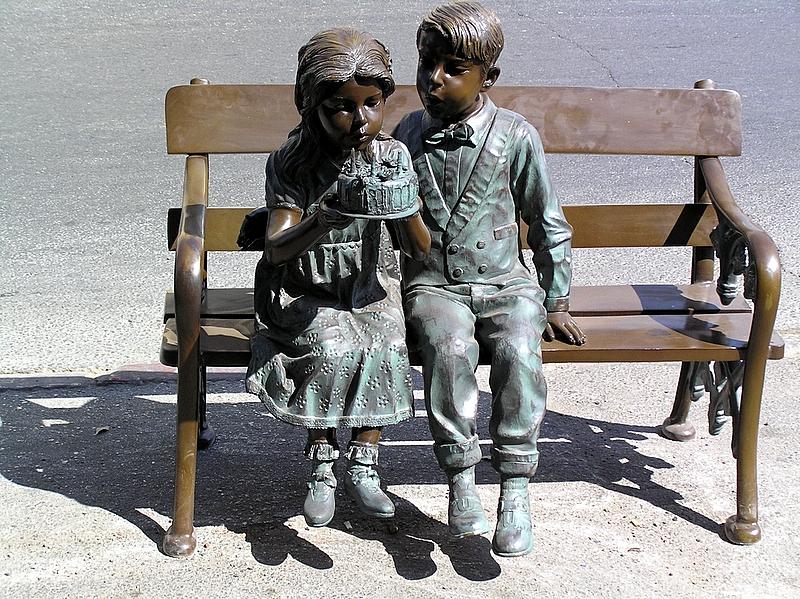 Jerusalem statue children.JPG