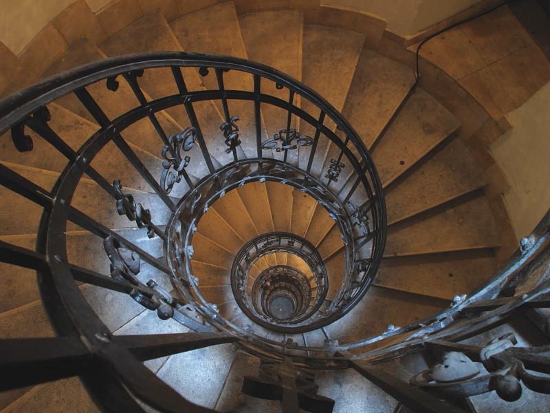 St. Stephens Basilica staircase