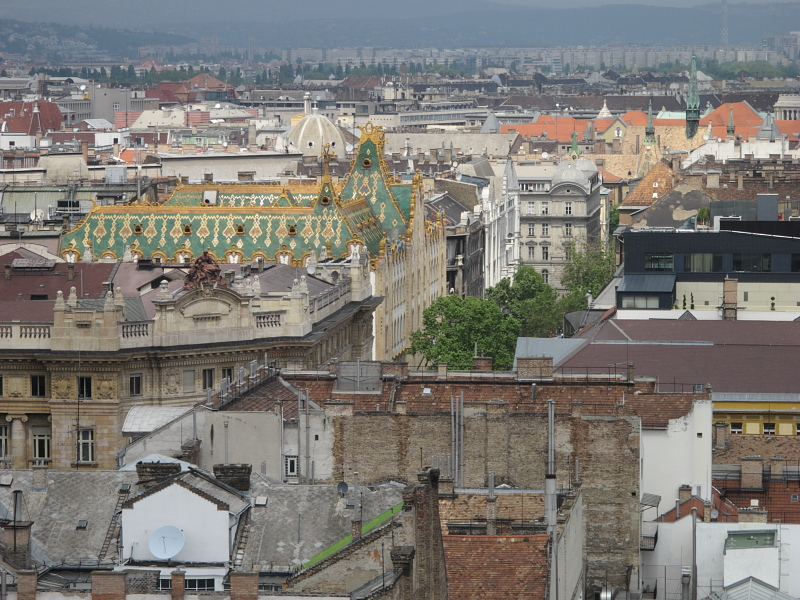 View from the St. Stephens Basilica tower