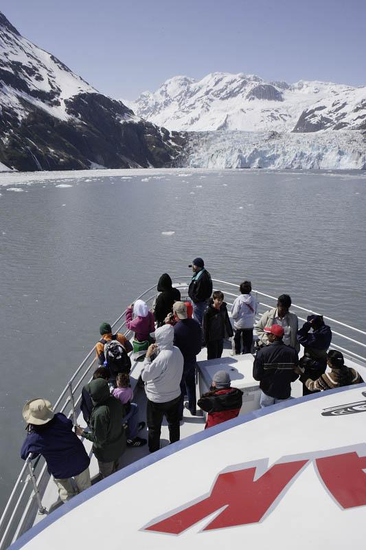 Whittier, cruise tour of Esther Passage