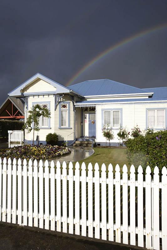 Stormy day, New Zealand