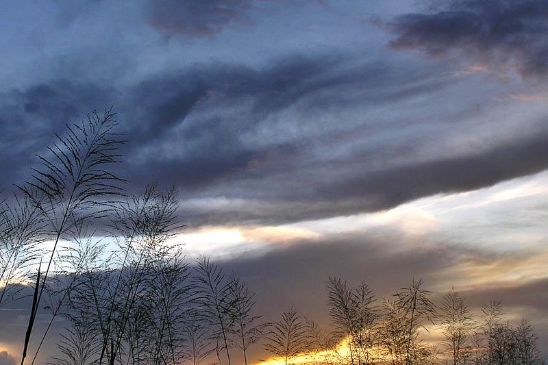 A sunset from home / Un atardecer desde casa