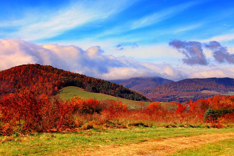Autumn along the Blue Ridge