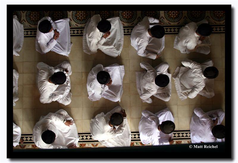Caodai Monks, Thay Ninh, Vietnam