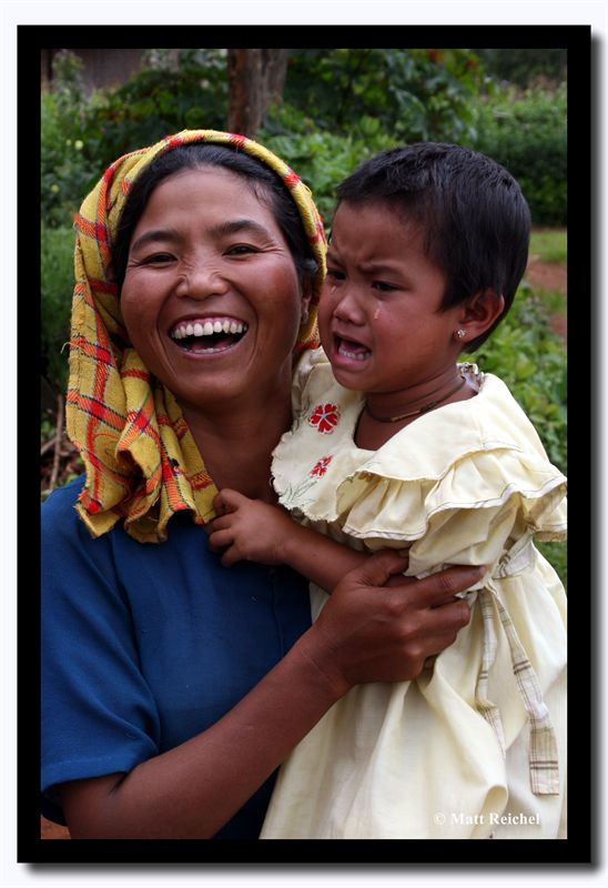A Smile and A Cry, Shan State, Myanmar