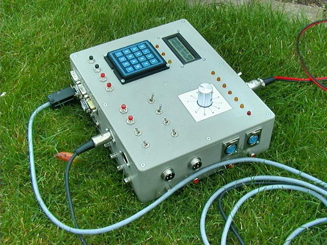 controlbox for laser and camera (version 1)