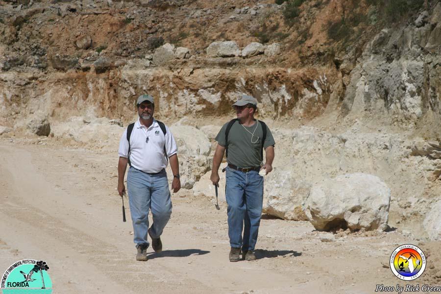 Roger Portell and Jon Bryan in HiCal Quarry.jpg