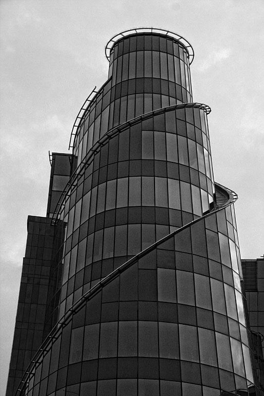 TVP - Polish Television -  headquarters at Jana Pawla Woronicza street