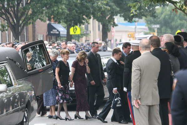family leaving the Limo