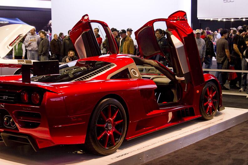 Hot sportscar