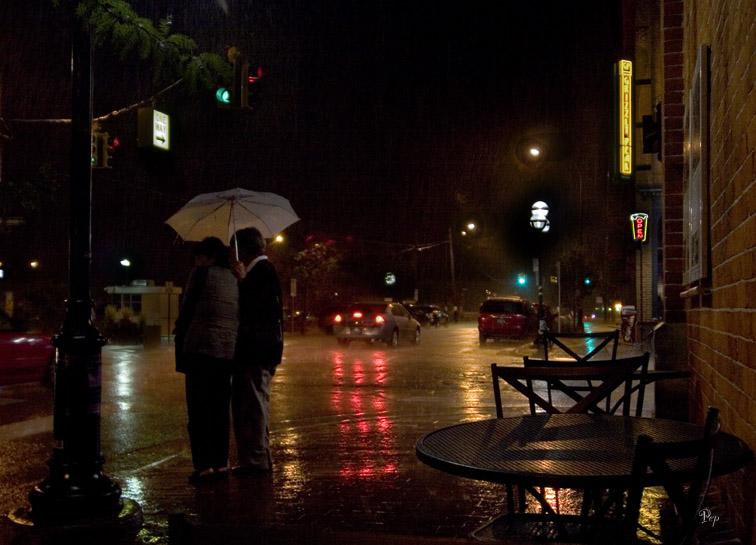 Aug. 26, 2006 - Rainy Night