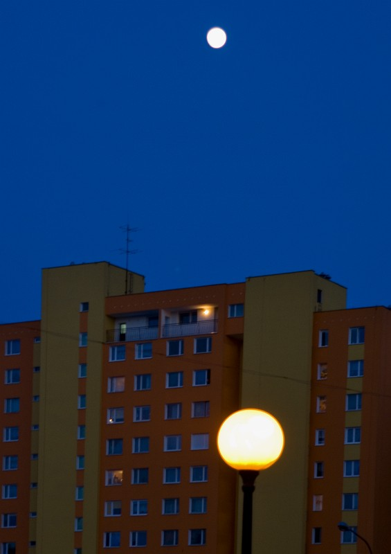 Two Moons Evening