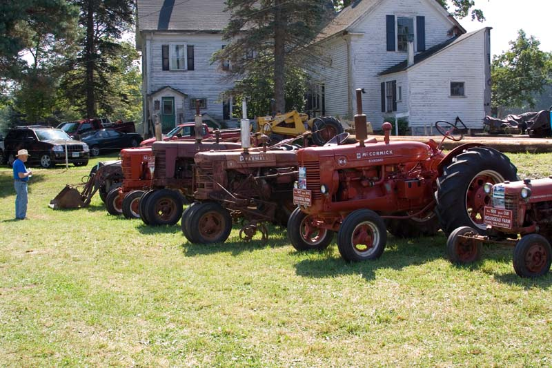 Workhorses in a row