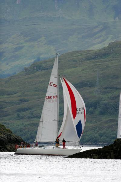 Racing at Kyle of Lochalsh
