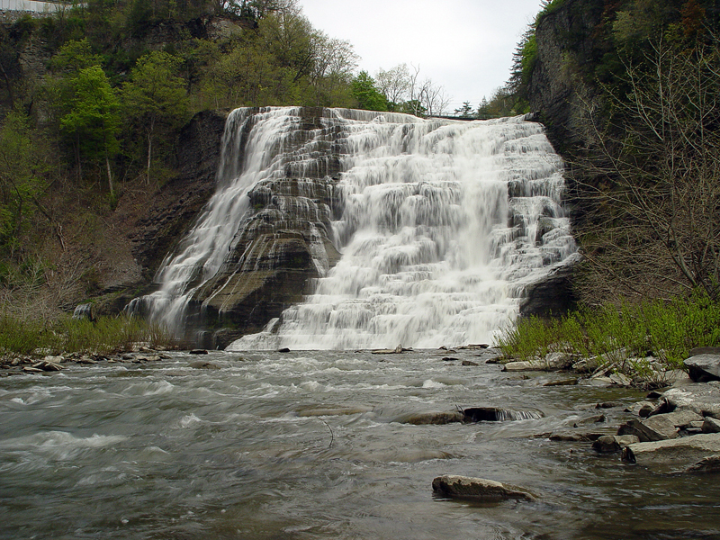 2003-05-10<BR>Ithaca Falls NY<BR>VIDEO