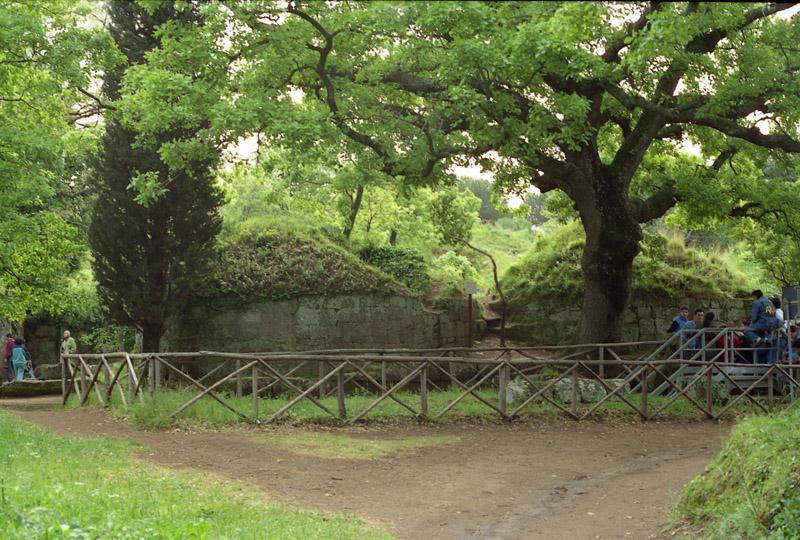 Cerveteri burial mounds