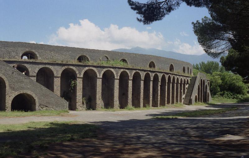 Amphitheatre in Pompei
