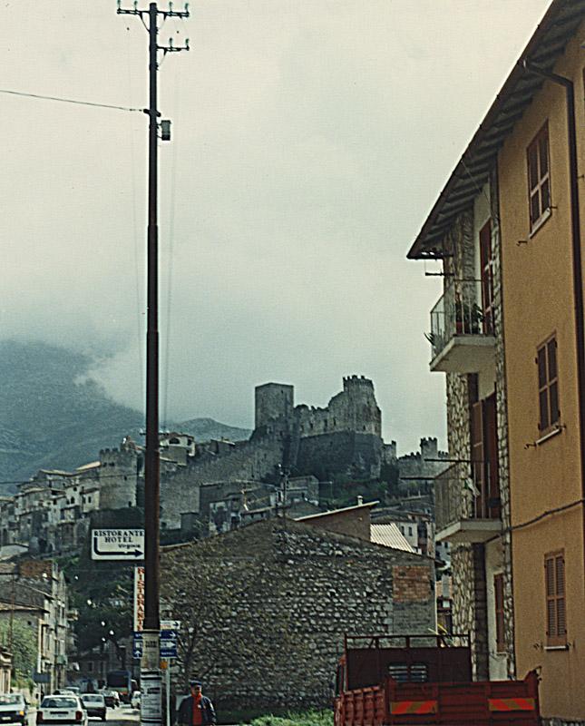 Castle & telephone pole!