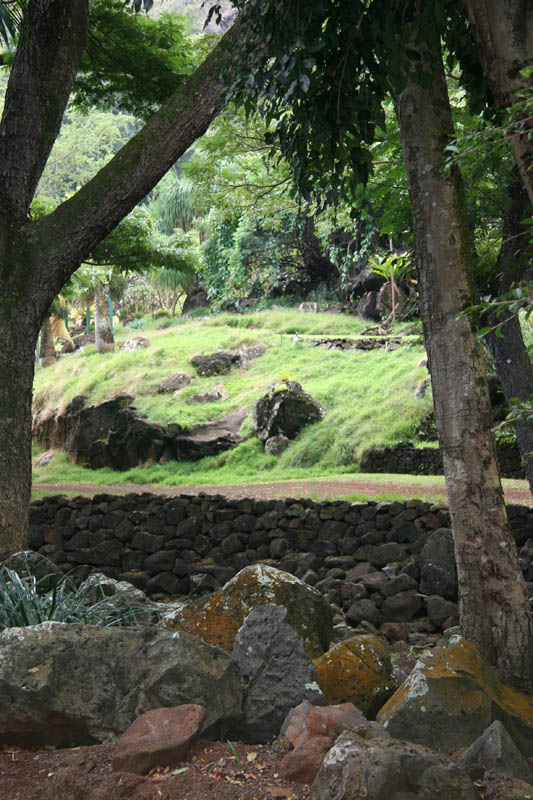 Ceremonial place in Kauaii