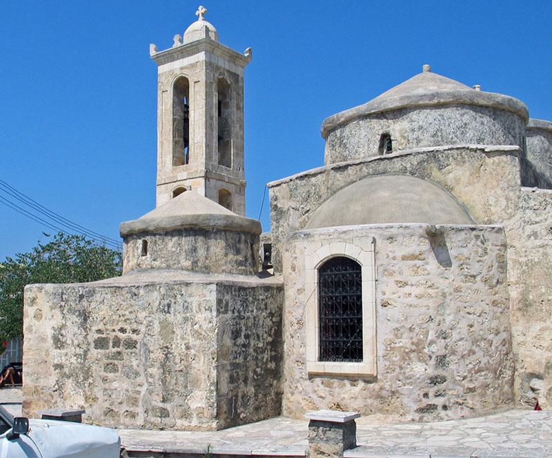Byzantine Church at Noon