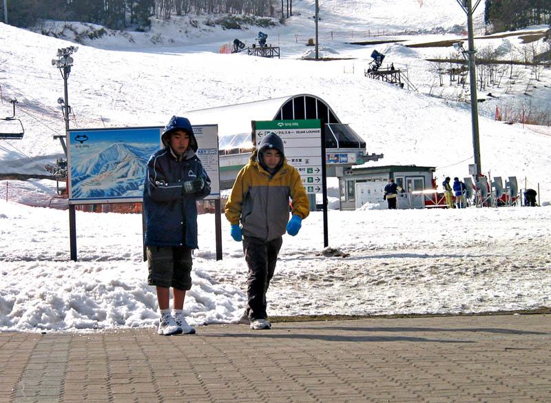 Kids at Izumi