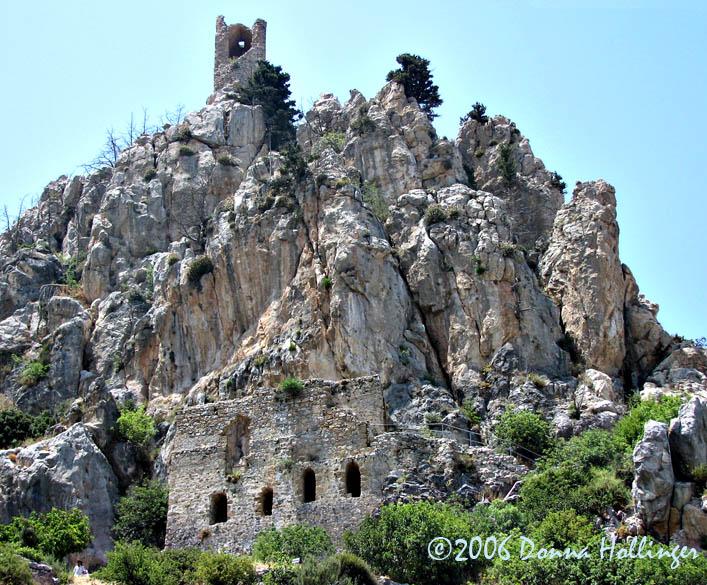 St Hillarion, A Hermits Castle