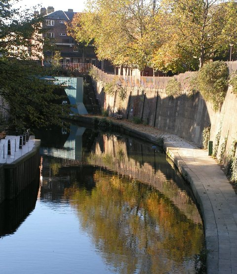 Regents Canal,Lisson Grove