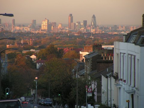 The City from Gipsy Hill,SE19