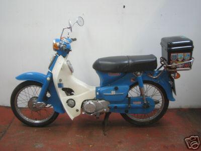 Honda C70   1984 - 1985