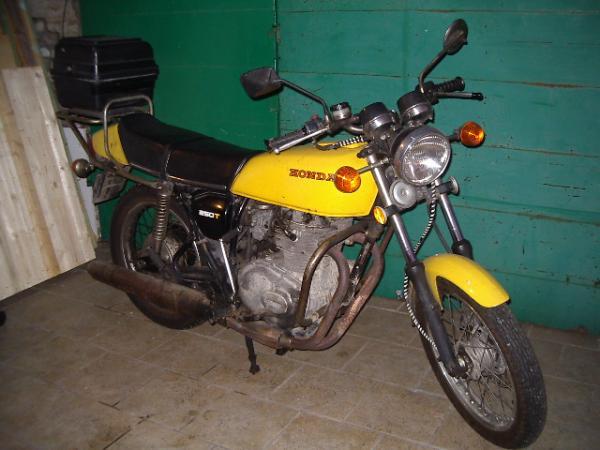 Honda CJ250T,6/1978 - 9/1978