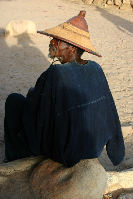 village elder, dogon country