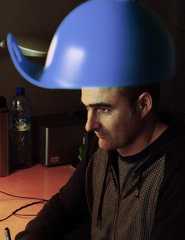 casco azul