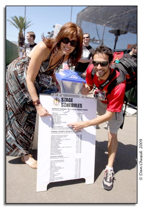 Kristen Cusato & Brad Hurvitz