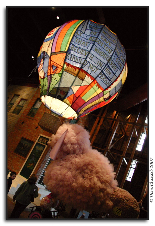 Leonard Knights Hot Air Balloon