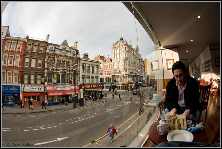 Lunch break, Paperchase Nero, Goodge Street
