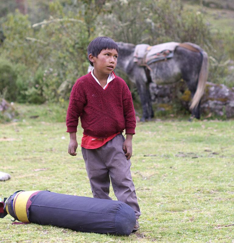 Children in Pampacorral