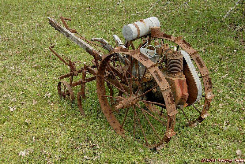 I think its an old cultivator