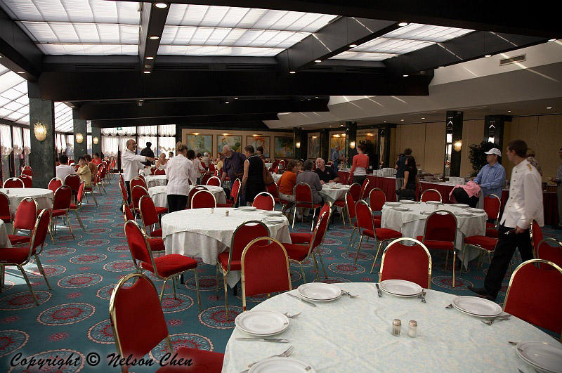 Continental Breakfast in Hotel Ergife Place in Rome